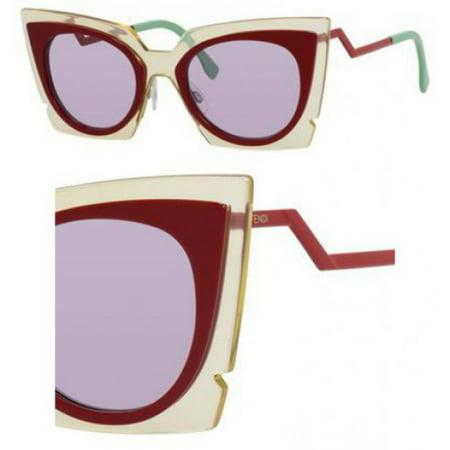 fa348c917ecb UPC 762753628411 product image for Sunglasses Fendi 117  S 0IC5 BEIGE RED  BURG