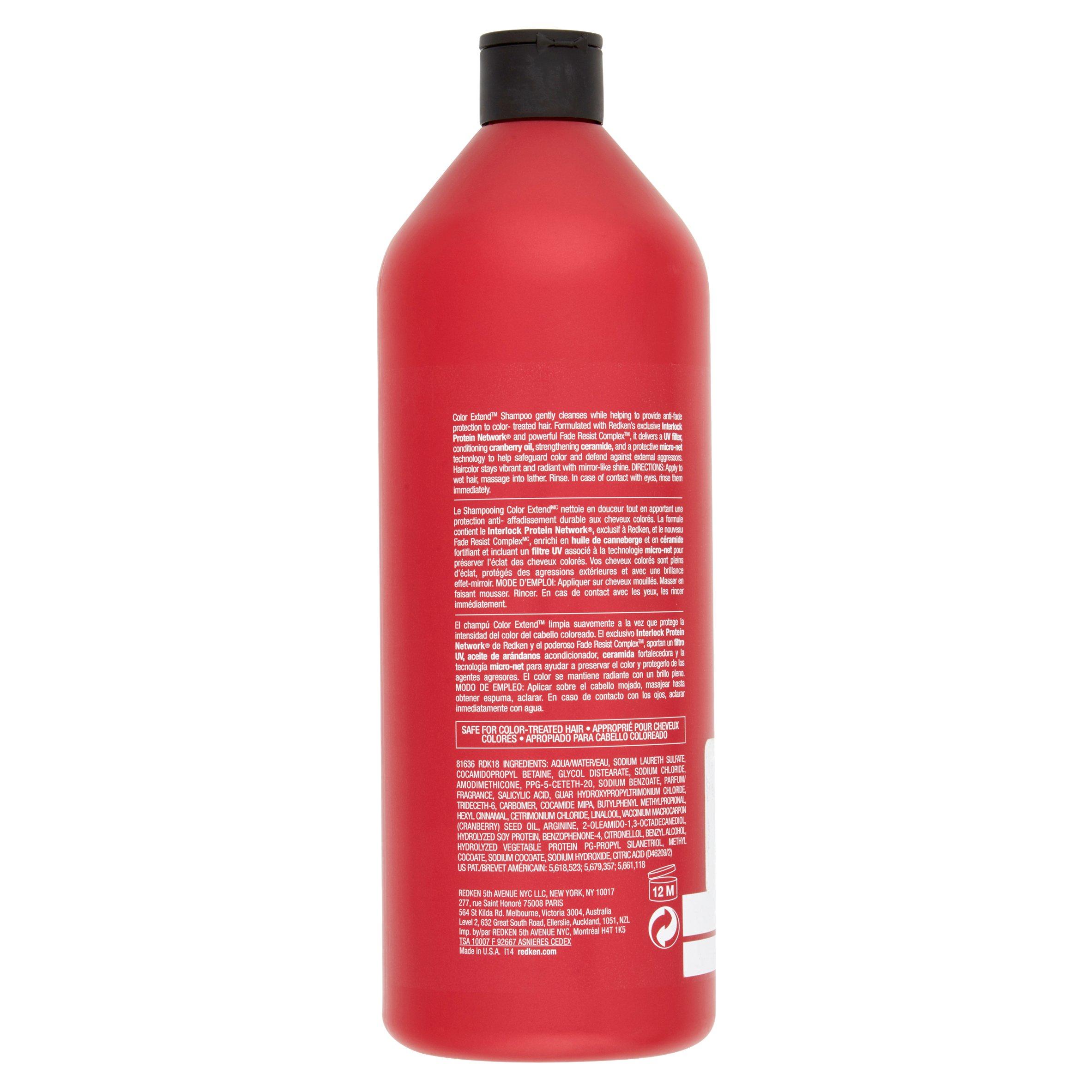 Redken Color Extend Shampoo 338 Oz Walmart