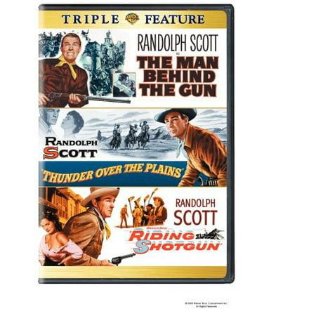 Shallow Thunder - The Man Behind the Gun / Thunder Over the Plains / Riding Shotgun (DVD)