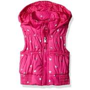 Girls 2T-4T Foil Star Vest