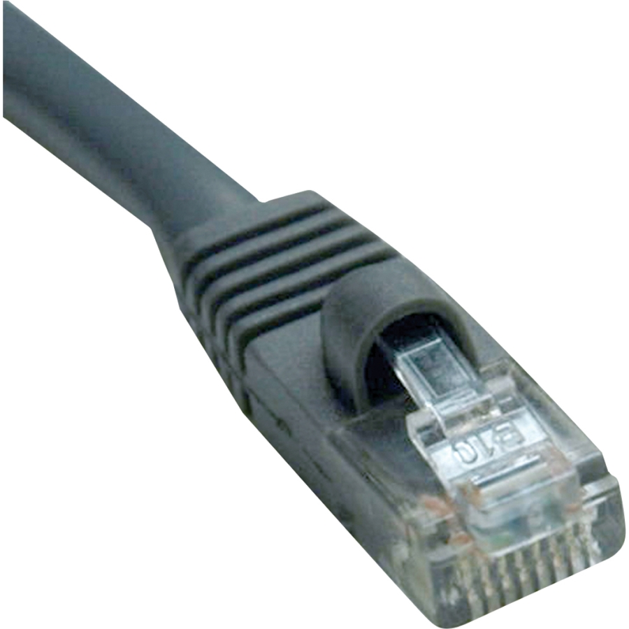 Tripp Lite 150ft Cat5e / Cat5 350MHz Outdoor Molded Patch Cable RJ45 M/M Gray 150' - 150ft - 1 x RJ-45 Male - 1 x RJ-45 Male - Gray