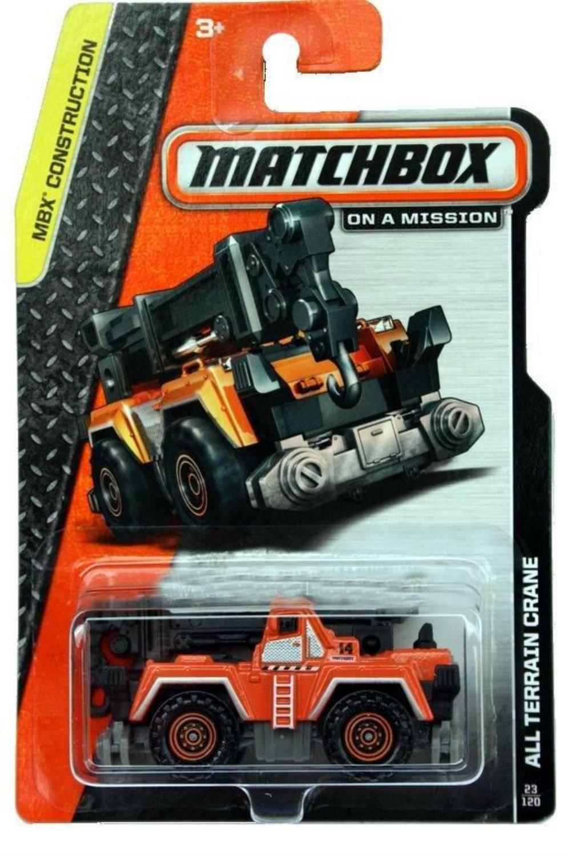 2014 All Terrain Crane 23 120, 2014 Matchbox All Terrain Crane 23 120 By Matchbox by