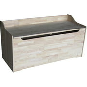 International Concepts Large Toy Storage Box, Unfinished