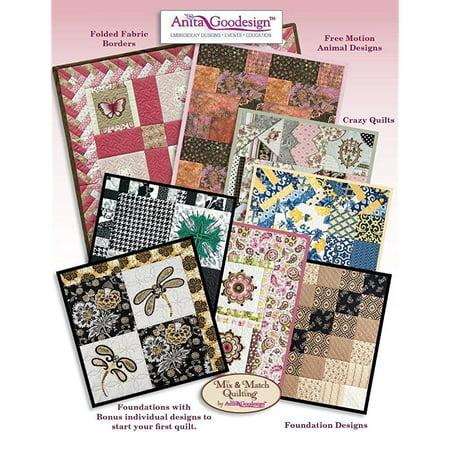 Anita Goodesign Quilting Essentials Premium Collection Embroidery
