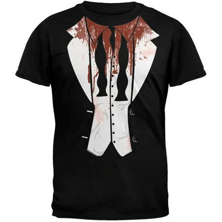 Halloween Zombie Tuxedo T-Shirt - Zombie T Shirts For Halloween