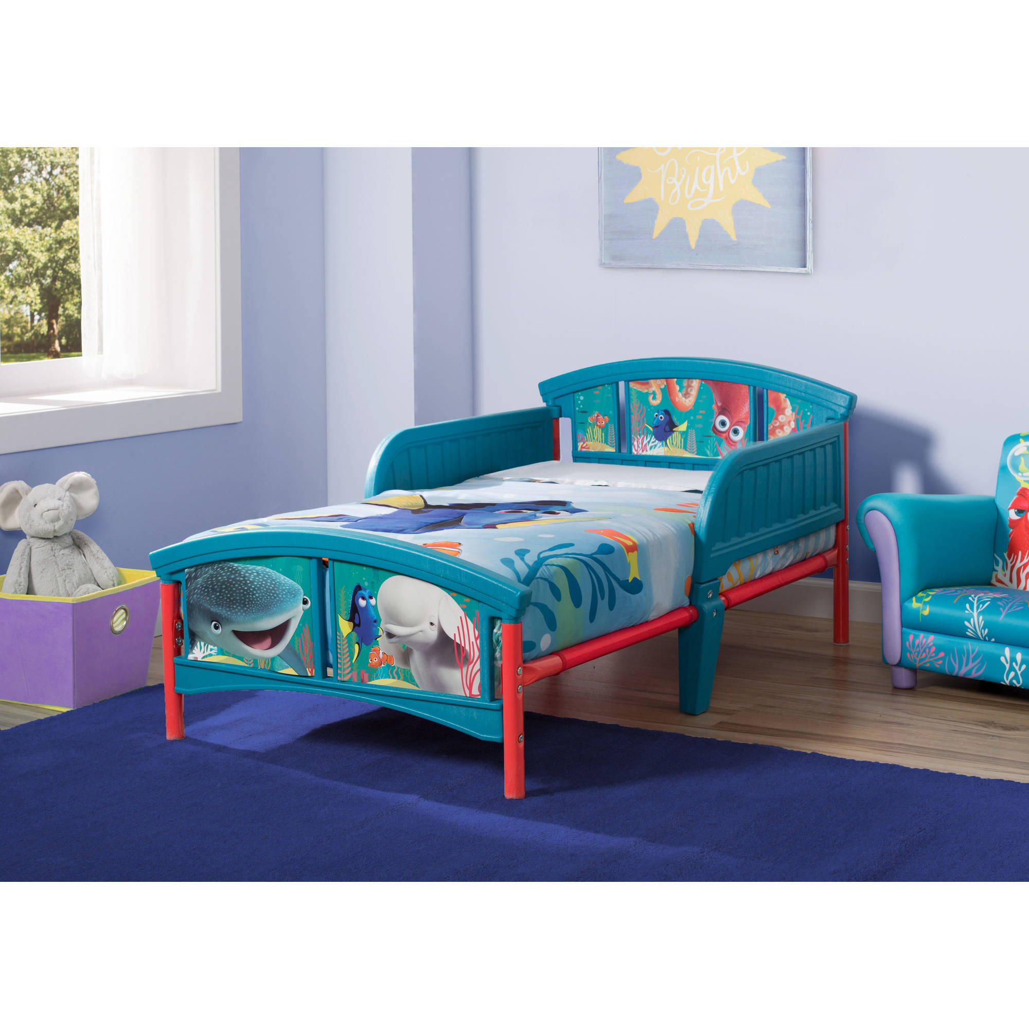 Disney Finding Dory Plastic Toddler Bed