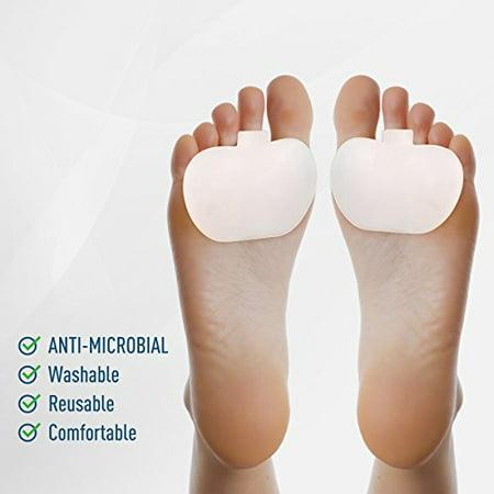 Metatarsal Foot Pads   Great For Diabetic Feet   Plantar Fasciitis Foot Relief Pad