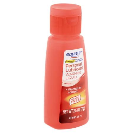 Equate Warming Liquid Personal Lubricant, 2.5 fl oz