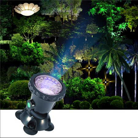 Outdoor Led Flood Light 36 Waterproof Security Lights Submersible Spotlight For Home Garden Patio Deck Driveway Area Lighting