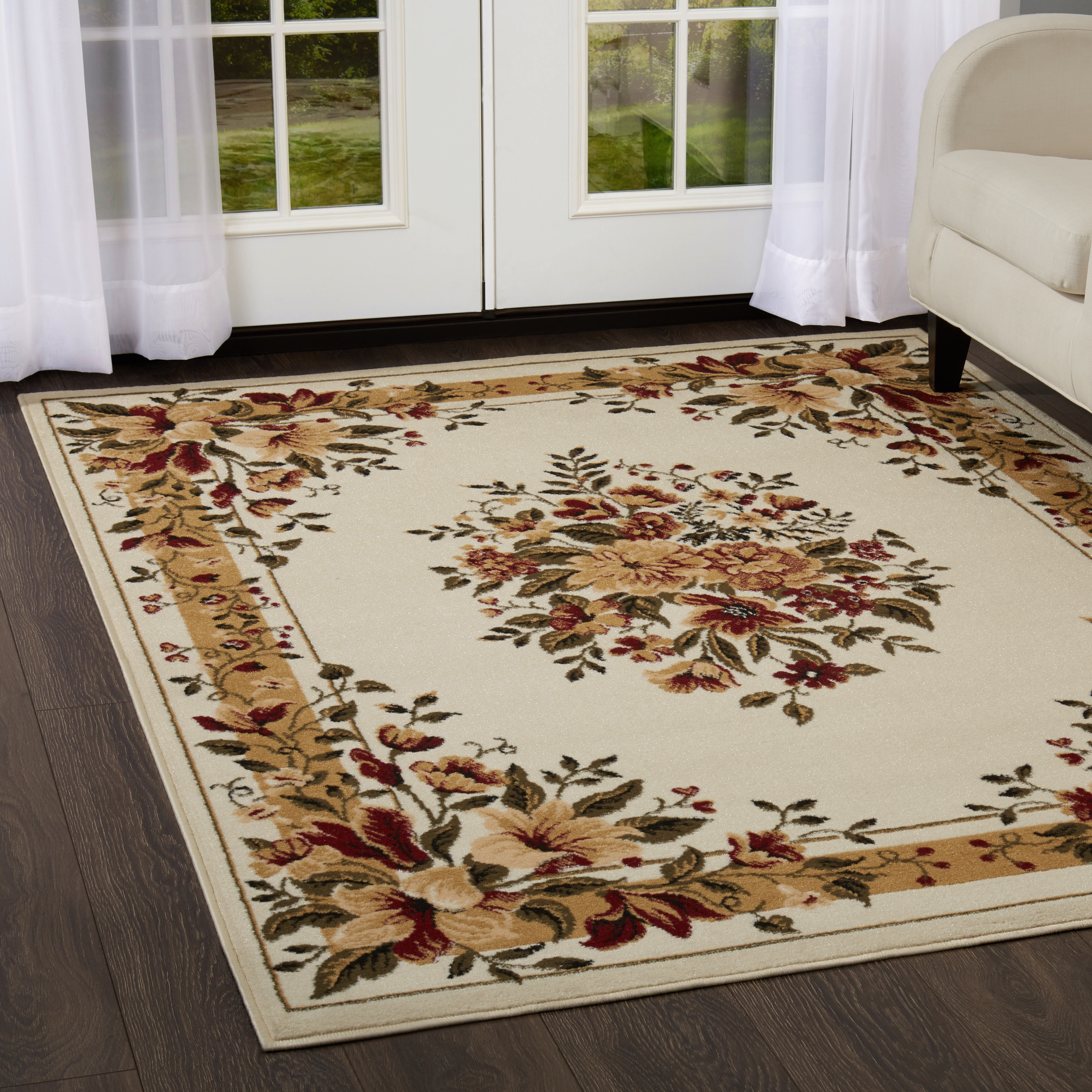 Home Dynamix Optimum Collection Ivory Area Rug