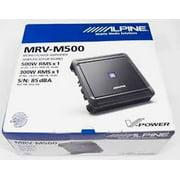 Alpine MRV-M500 Mono subwoofer amplifier 500 W RMSx1 at 2 ohms