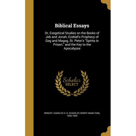 Biblical Essays : Or, Exegetical Studies on the Books of Job and Jonah, Ezekiel's Prophecy of Gog and Magog, St. Peter's Spirits in Prison, and the Key to the - Spirit Store Jobs