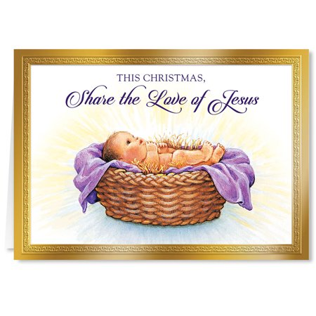 Share the Love of Jesus Christmas Card Set/20 ()