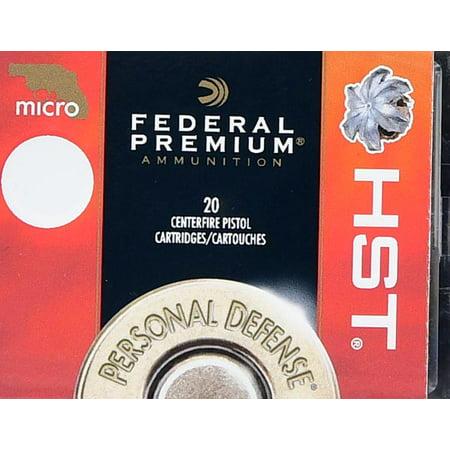 Federal Ammunition Federal 38spl Hst Micro