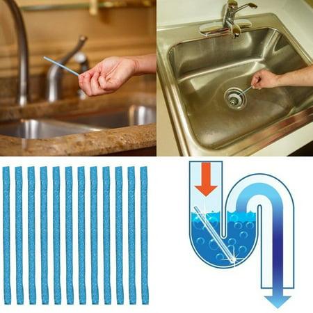 Drain Sticks Pipeline Drain Cleaner Sticks Kitchen Sink Sewer Detergent Sticks Cleaning