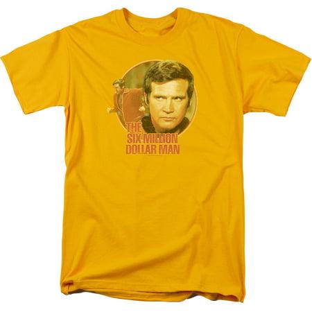 The Six Million Dollar Man Run Faster Mens Short Sleeve Shirt