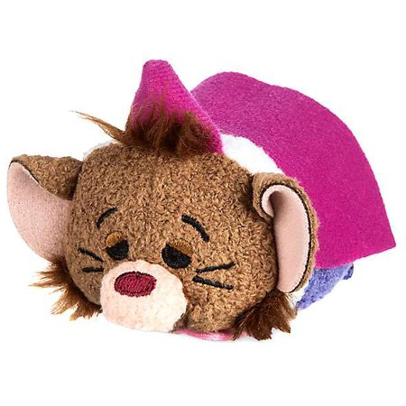 Disney Alice in Wonderland Dormouse Mini Plush [Version 2] - Alice In Wonderland Stuff