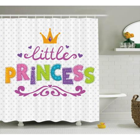Teen Girls Decor Shower Curtain Set,