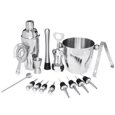 Best Choice Products 16-Piece Stainless Steel Bar Set ()