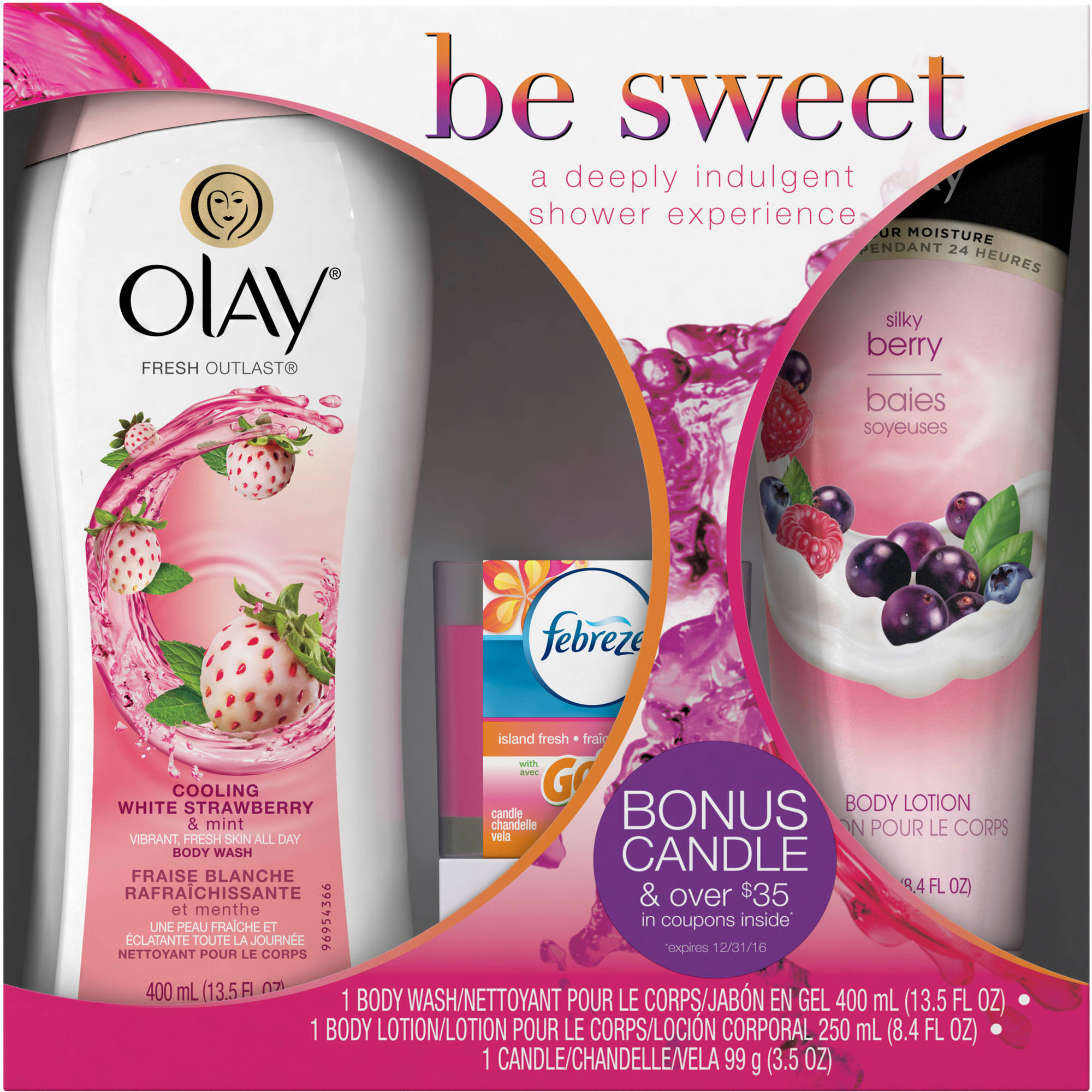 Olay Bath & Shower Gift Set (Choose Your Scent)