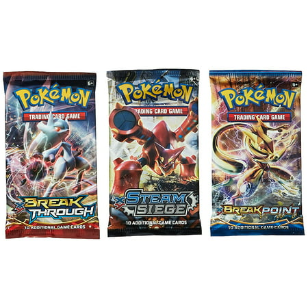 Giants Booster Pack - Pokemon Random Booster Cards, Pack of 3