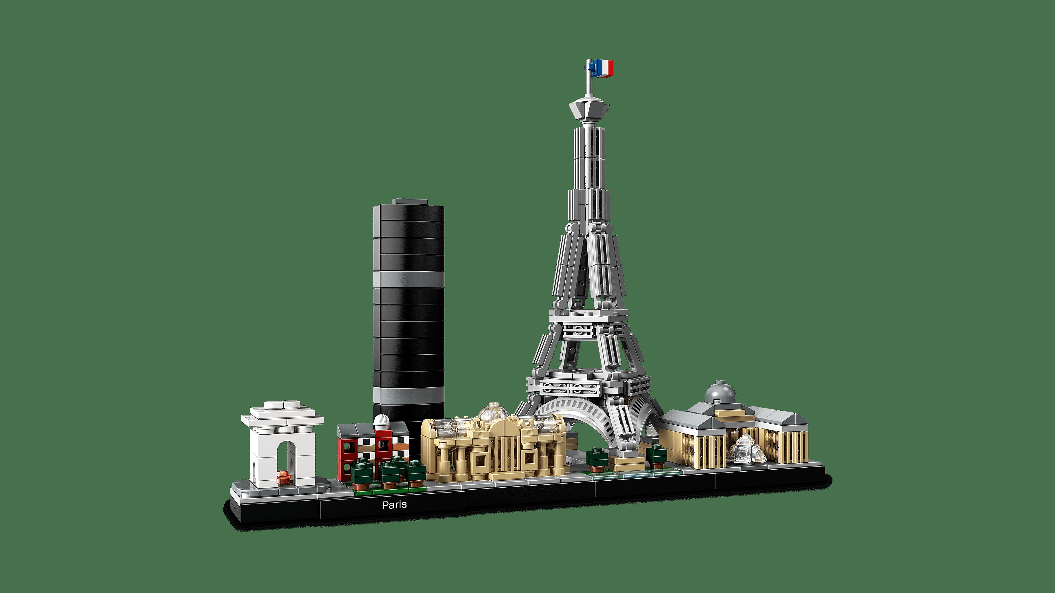 0212c33a77 LEGO Architecture Skyline Collection Paris 21044 Building Set - Walmart.com
