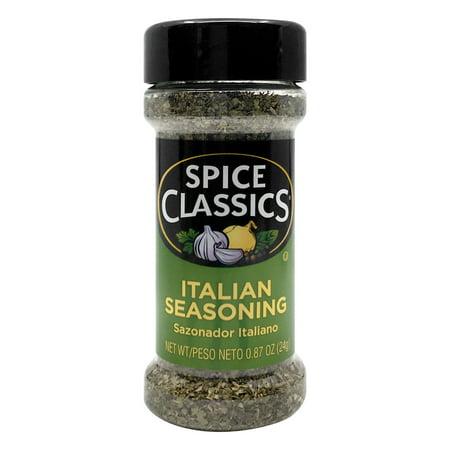 Spice Classics Italian Seasoning, 0.87 OZ