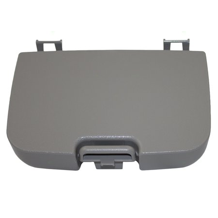 BROCK Overhead Console Sunglasses Holder Box Gray Storage Bin Replacement for 02-07 Ford Super Duty Pickup Truck w/out Sunroof 2C3Z7811586BAB