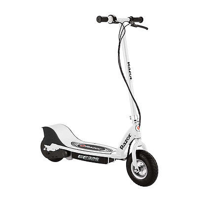Razor E325 Electric Battery 24 Volt 15 MPH Motorized Ride On Kids Scooter, White [Istilo260058] by