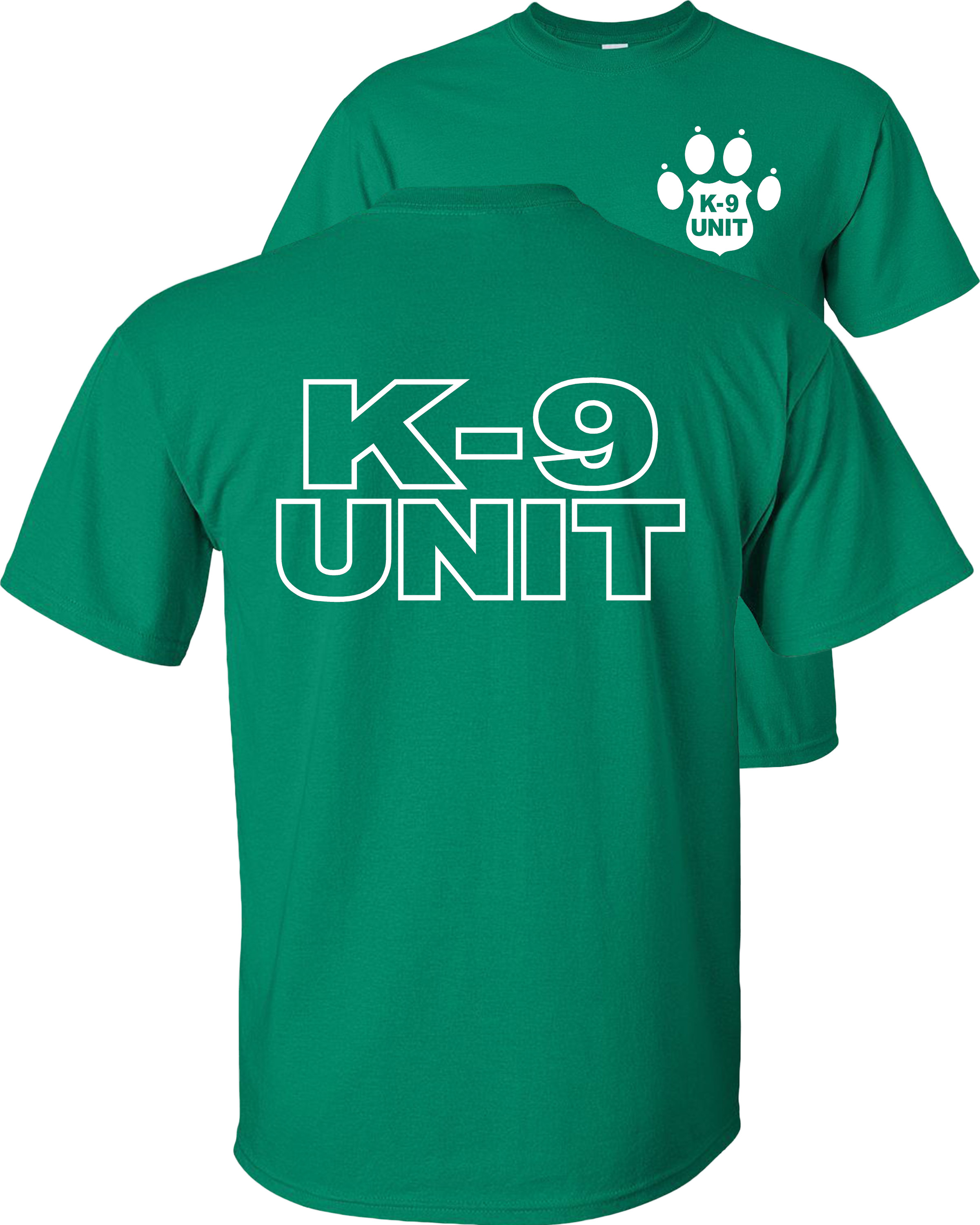 K-9 Unit Police Dog Childrens Long Sleeve T-Shirt Boys Cotton Tee Tops