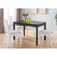 Smart Home Faux Croc Black Dining Table