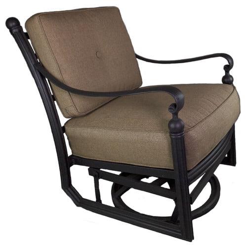 California Outdoor Designs Baldwin Patio Chair with Cushion