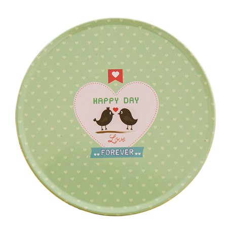 CARLTON GLOBAL HAPPY DAY Colorful Silicone Cup Drinks Holder Mat Tableware Placemat (Silicone Kids Happy Mat)