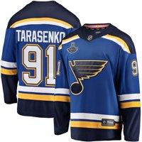 Vladimir Tarasenko St. Louis Blues Fanatics Branded 2019 Stanley Cup Champions Breakaway Patch Player Jersey - Blue