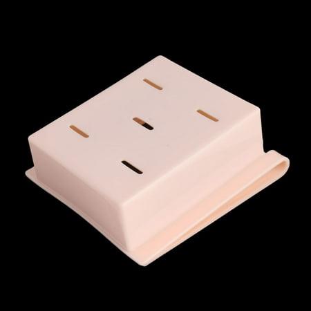 Plastic Fridge Storage Sliding Drawer Shelf Box Basket Organizer Pink - image 2 of 4