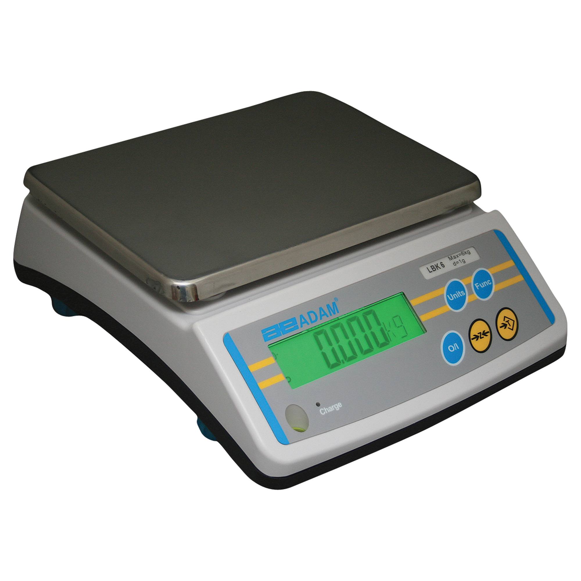 Adam Equipment LBK 25A Weighing Scale, SS Pltfrm, 12kg/25...