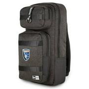 San Jose Earthquakes New Era Slim Tech Backpack - Heathered Black