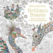 Millie Marotta Adult Coloring Book: Millie Marotta's Brilliant Beasts: Favorite Illustrations from Coloring Adventures (Paperback)