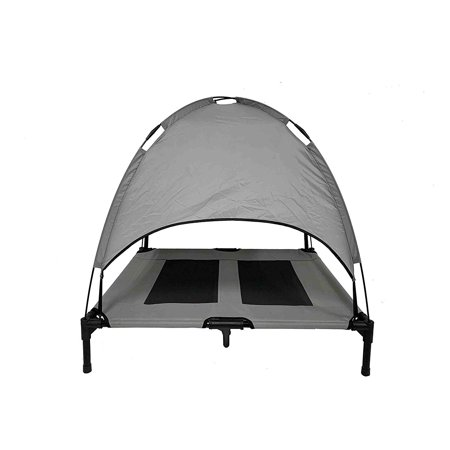 Pet Canopy (Midlee Dog Cot with Canopy Elevated Pet Bed …)