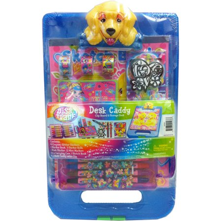 Lisa Frank Desk Caddy With Casey Dog Cli