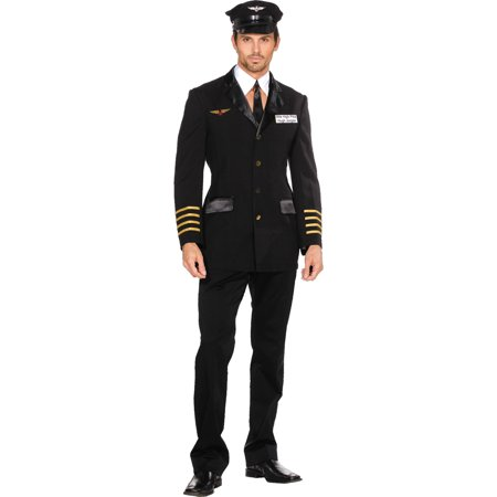 Pilot Hugh Jorgan Men's Adult Halloween - Hugh Hefner Halloween