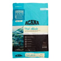 Acana Wild Atlantic Grain-Free Wild-Caught Fish & Fresh Kentucky Greens All Breed Dry Cat Food, 12 lb