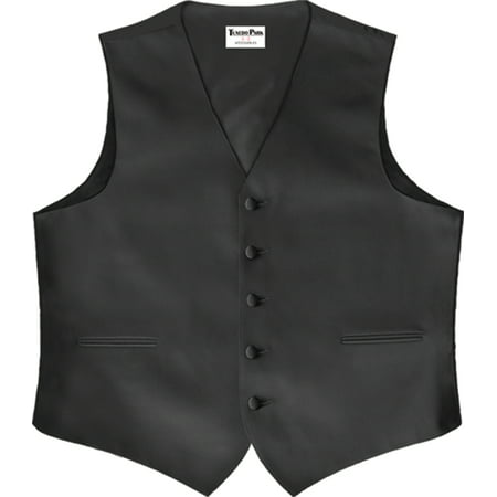 Tuxedo Park Color Satin Vest with Back