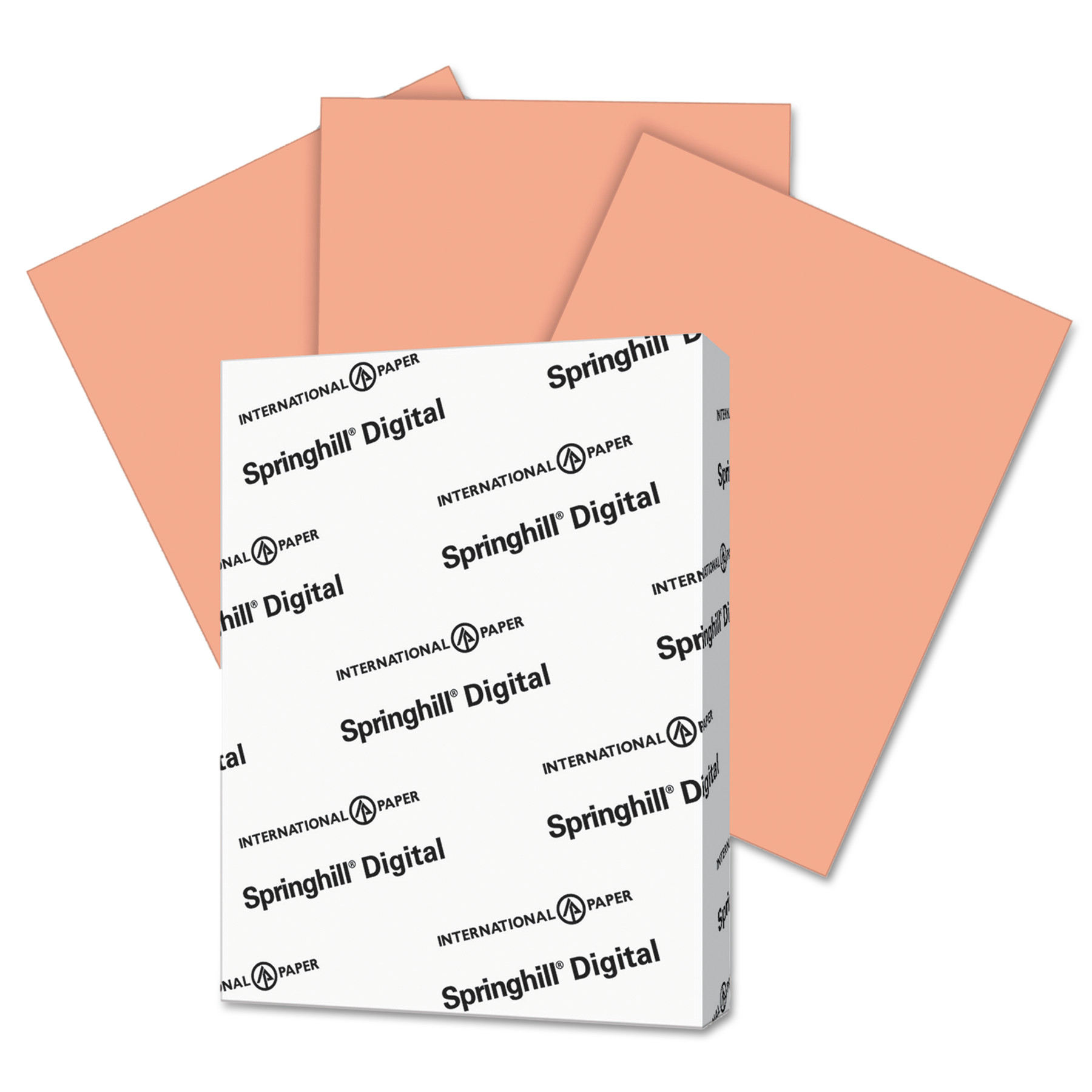 Springhill Digital Index White Card Stock 90 lb 8 1//2 x 11 250 Sheets//Pack