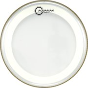 Aquarian Super-2 Clear Drumhead with SX Ring 10 in.