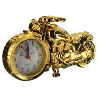 Fashion Cool Motorcycle Motorbike Quartz Alarm Clock Desk Home Bedroom Decor Kids Toys Birthday Christmas Gift