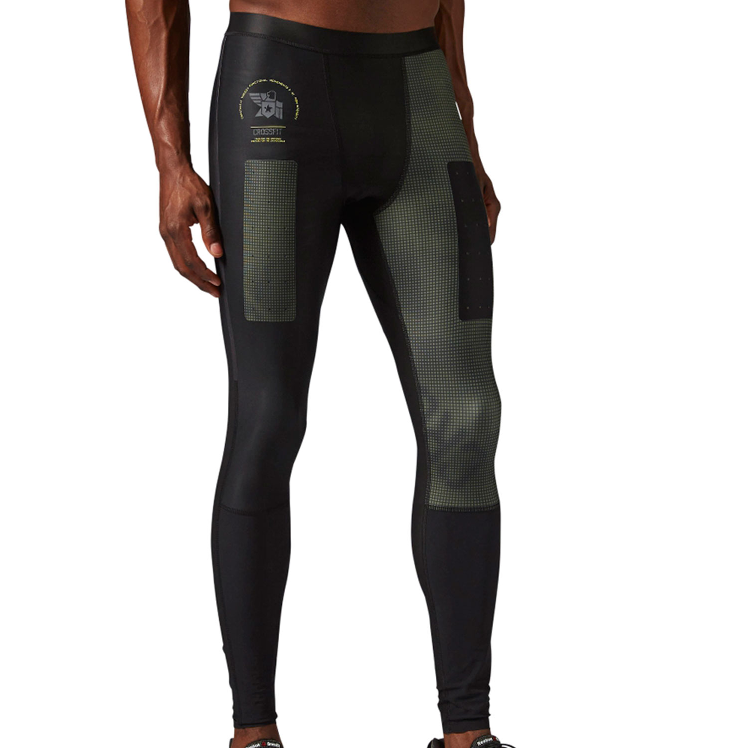 Men's Reebok Crossfit Compression Tight Black ap8952