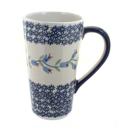 Polish Pottery Tulip Large Coffee Mug ()
