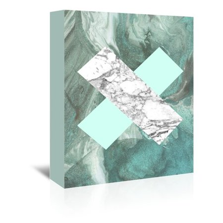 outlet store b46e1 1d4c7 Americanflat Geometric Marble X by LILA + LOLA Graphic Art ...