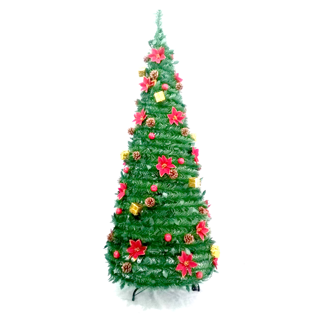 ALEKO Instant Pop Up Christmas Holiday Tree - Decorations ...